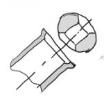 Фаска в точности подходящая к шару образуется если трубку разогреть феном и вдавить шарик в трубку. В случае с деревом надо фрезировать.